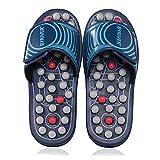 BYRIVER Reflexology Foot Massager Tools, Acupressure Massage Slippers Shoes Sandals Mat for Men Women, Relief Plantar Fasciitis Heel Arch Arthritis Neuropathy Pain (05M)
